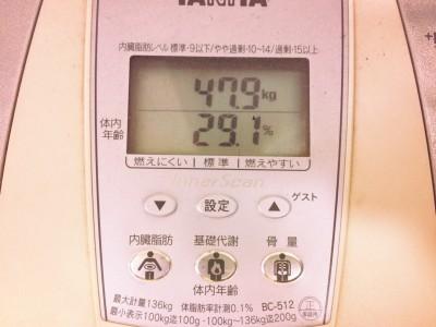 160311の体重
