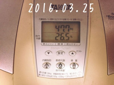 160325の体重